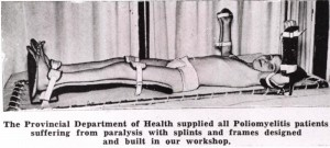 How Polio was treated in 1938