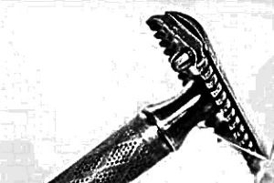 safety razor 1920 style
