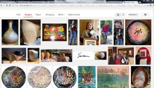 snip of google image search for Susan G Holland  plus  Holland Art Studio  June 10 2013